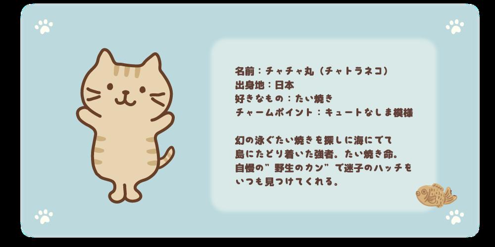 チャチャ丸紹介
